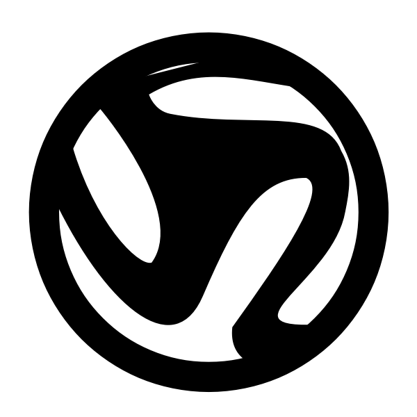 Soccer ball silhouette vector image