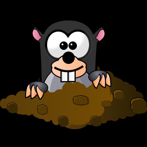 Cartoon Mole