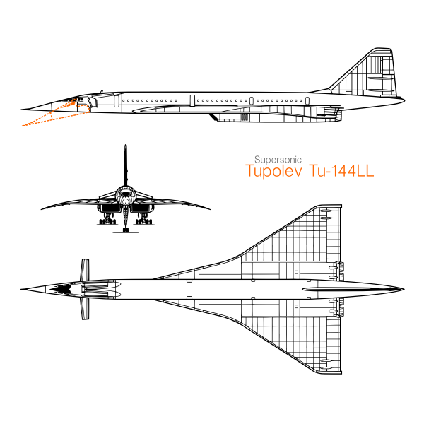 Tupolev Tu-144LL