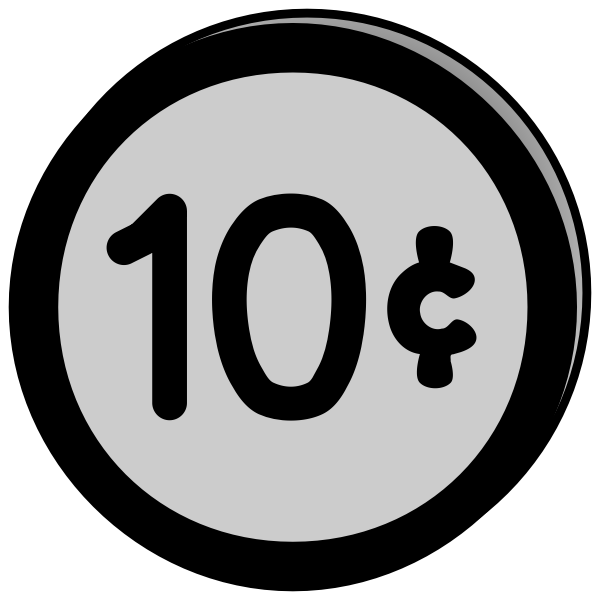 Coin 10 cents