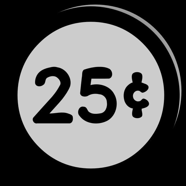 Quarter Money Clipart Transparent - Coin Quarter Dollar png - free  transparent png images - pngaaa.com