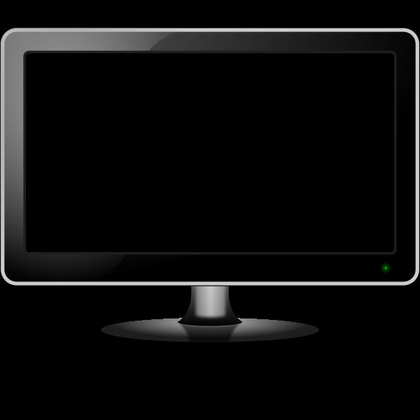 Empty monitor