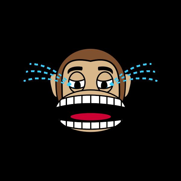 Monkey crying