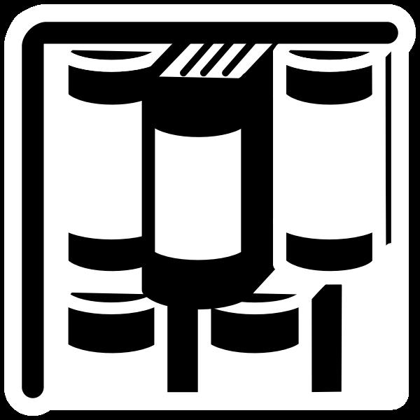 mono bookcase