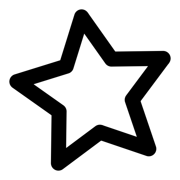 Black and white classic star