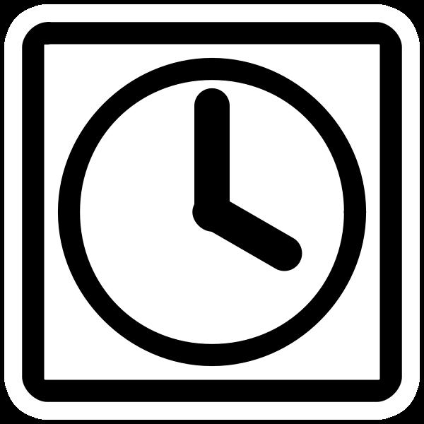 Temporary file icon symbol