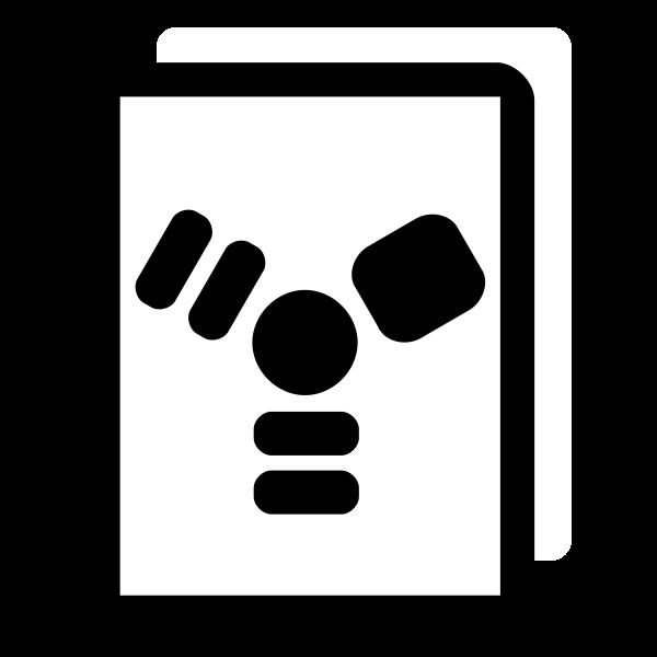 Firewire vector silhouette