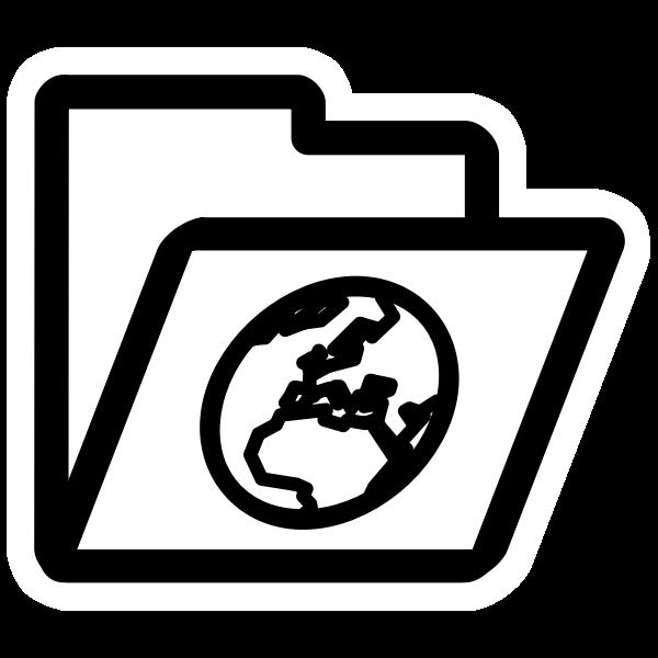 mono folder html