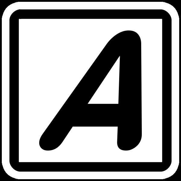 Italic font icon