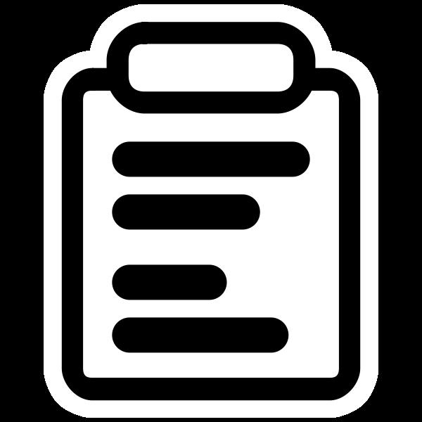 Monochrome paper report