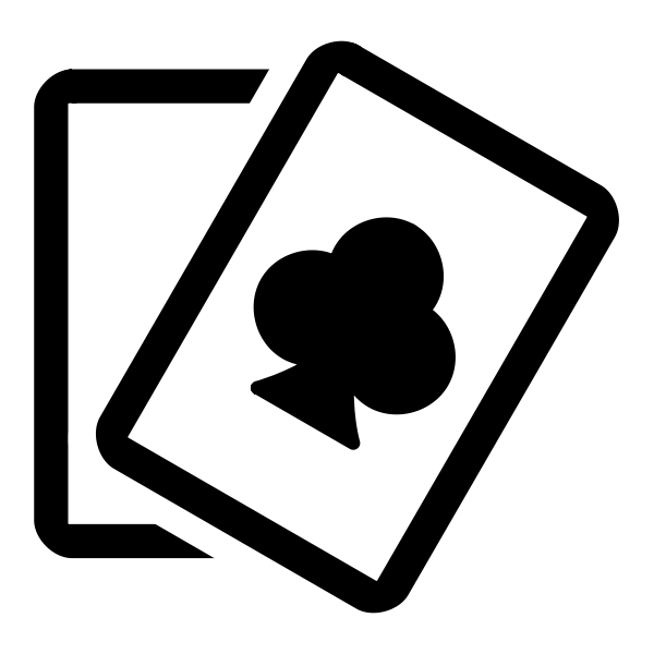 Card games icon