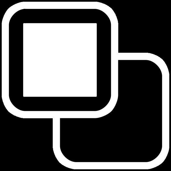 Double monochrome squares