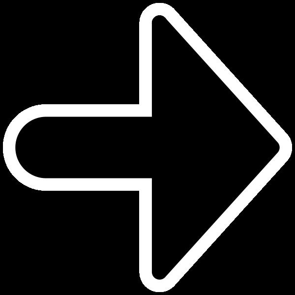 Arrow silhouette image