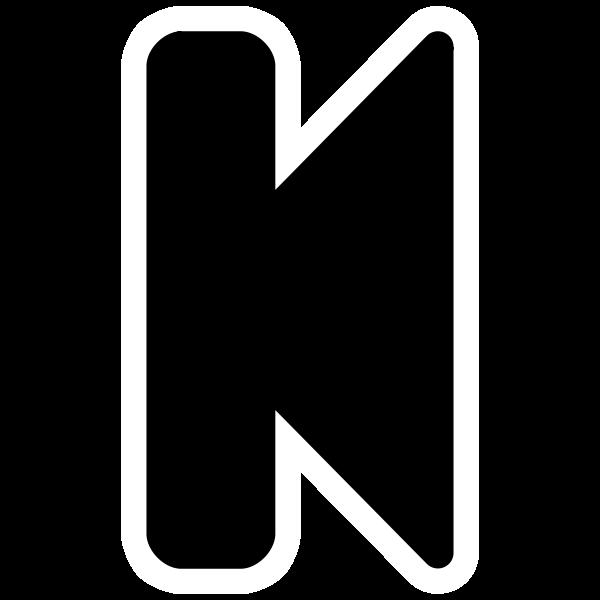 Mono black tab