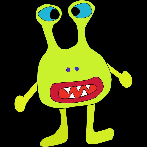 Light green monster