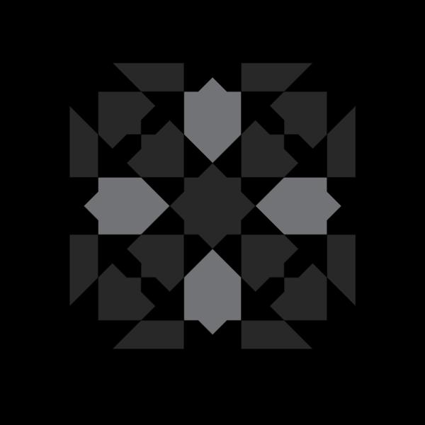 moorish glazed earthenware tile pattern 2