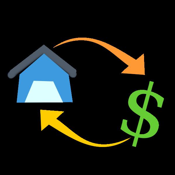 Mortgage vector illustration