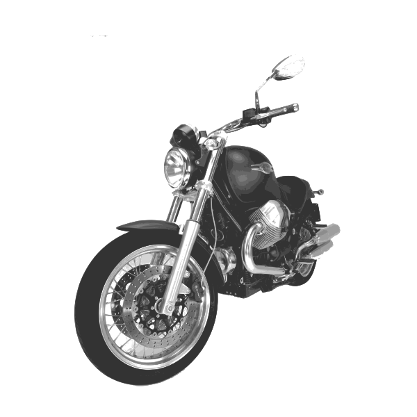 moto 6 gris