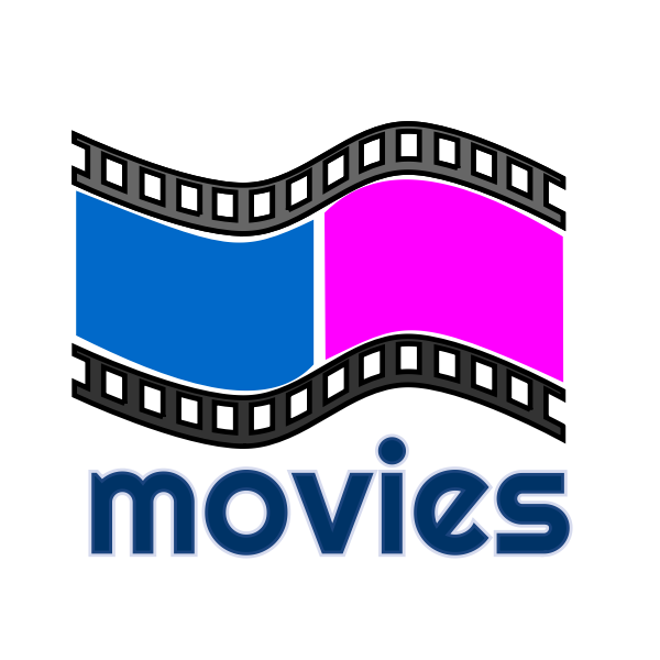 Vector illustration of movies rental symbol