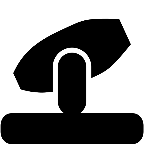 Vector image of moving studio light