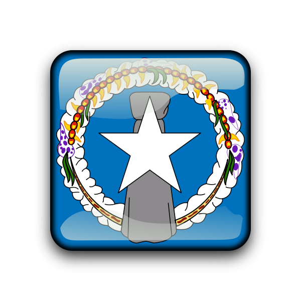 Northern Mariana Islands flag vector