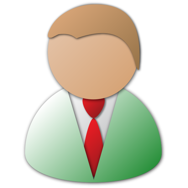 Business Person Vector Icon