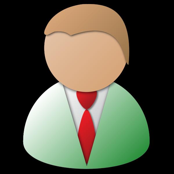 Business Person Vector Icon