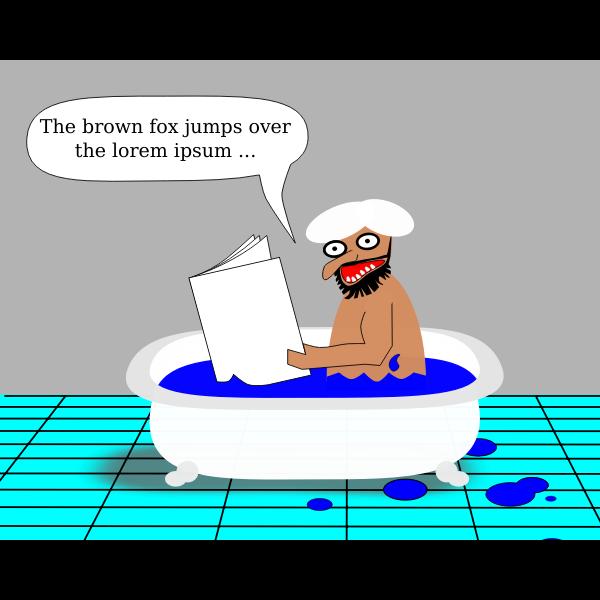 muslim in bathtub pd