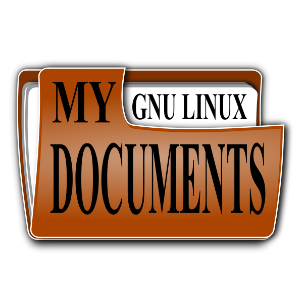 My documents 2 icon vector clip art