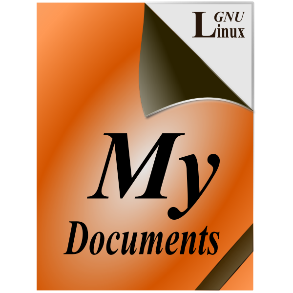 My documents 1 icon vector image