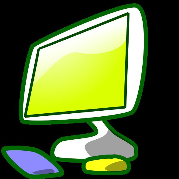 Vector clip art of my computer folder icon