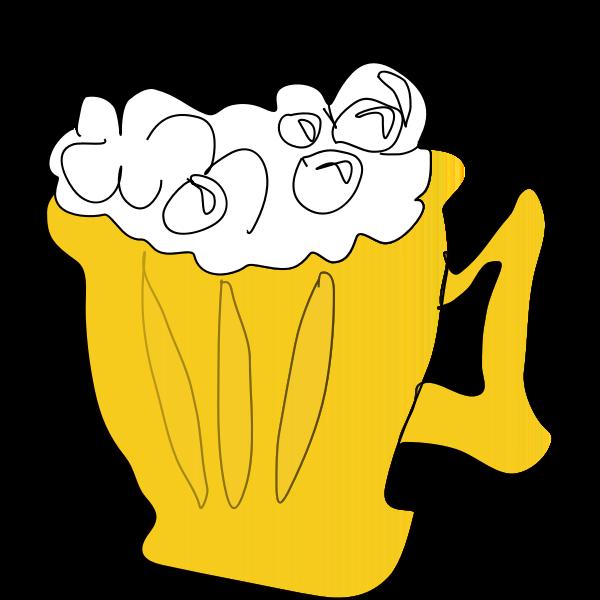 Cool Foamy Beer