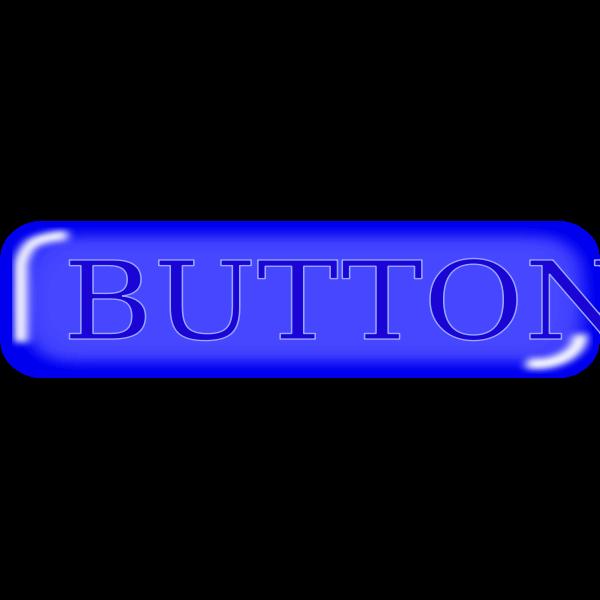 Pill shaped dark blue button vector illustration