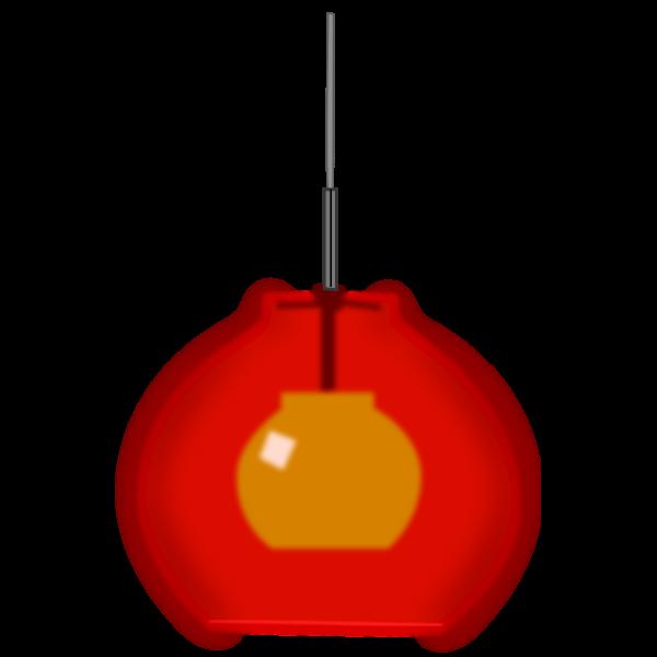 Lamp (in the window)