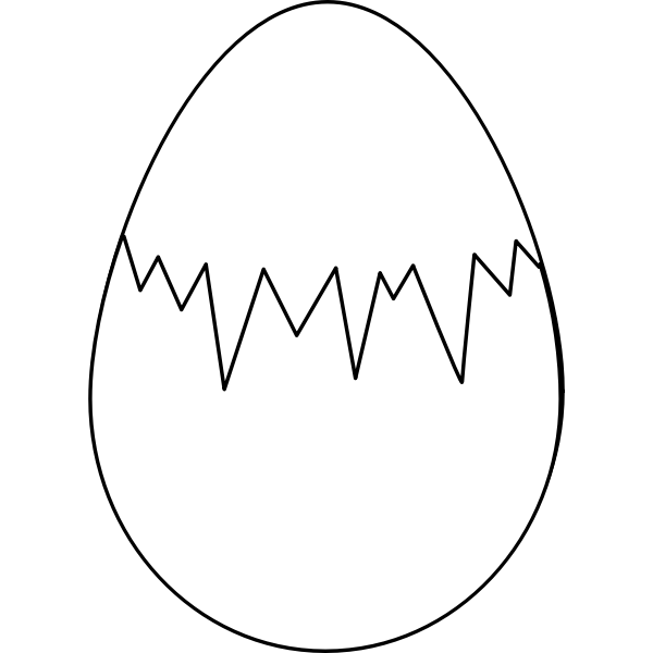 Easter Egg vector graphics