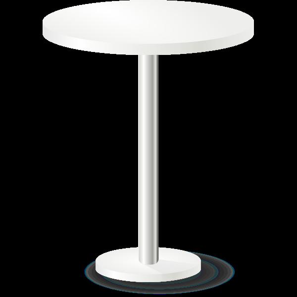 Pub table vector image