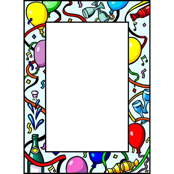 New Year's frame
