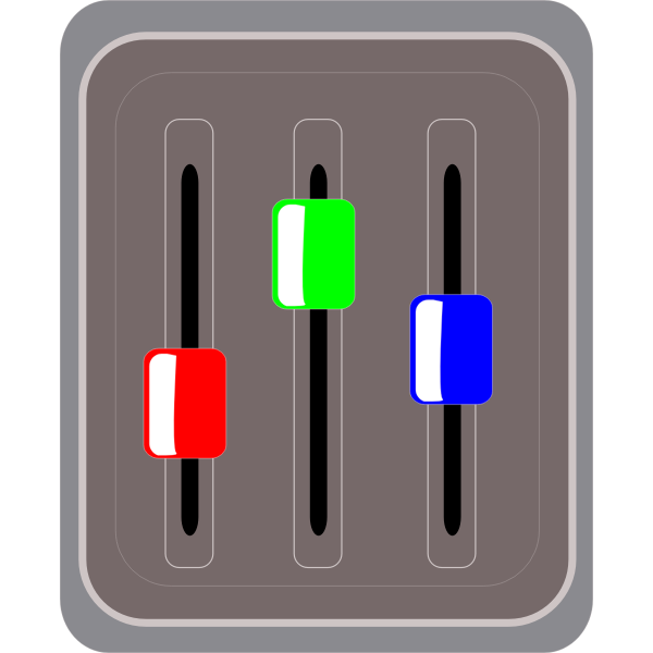 Tuner vector image