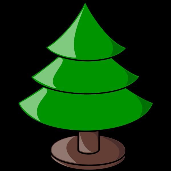 Christmas Tree plain