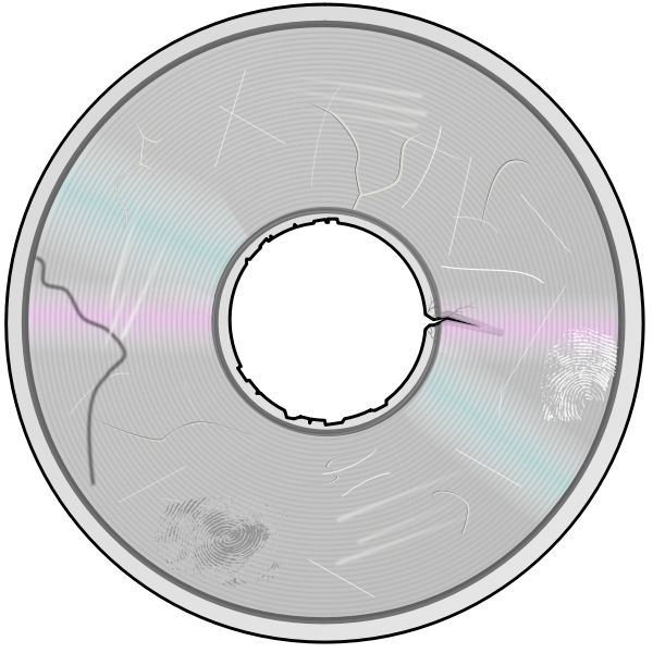 Damaged CD