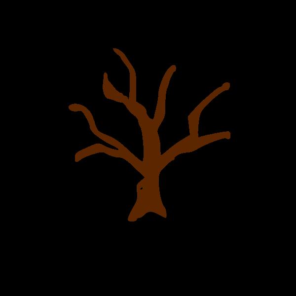 RPG map symbols: deserted tree
