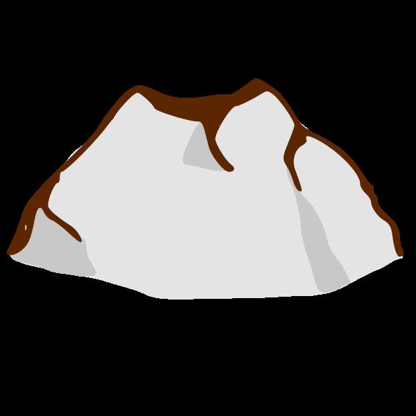 RPG map symbols: mountain