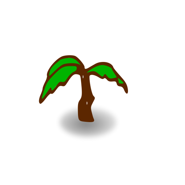 RPG map symbols: palm tree