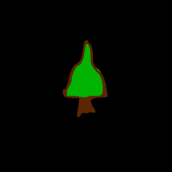 RPG map symbols: tree