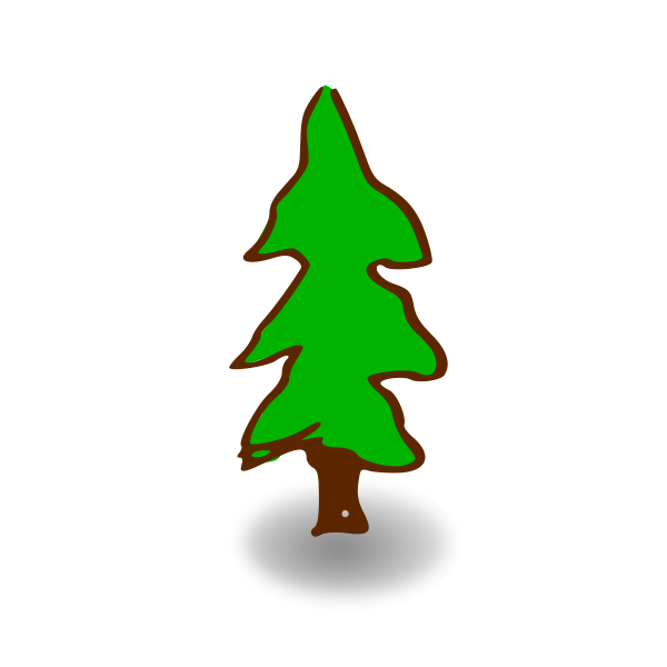 RPG map symbols: tree
