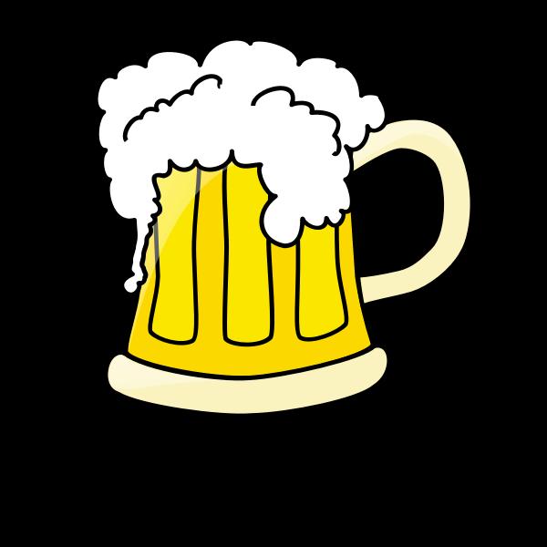 Beer mug clip art vector
