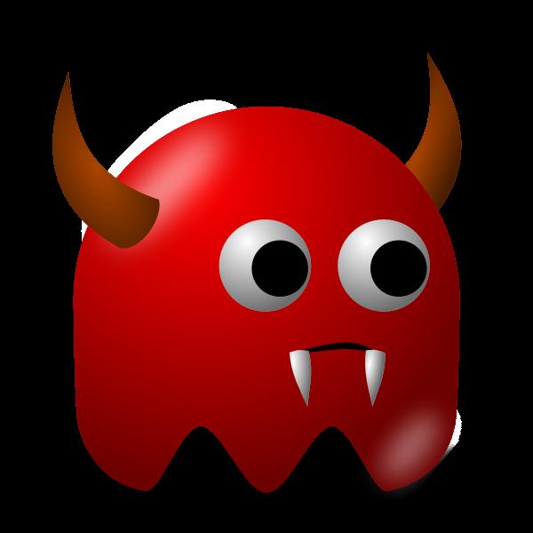 Game baddie devil vector image