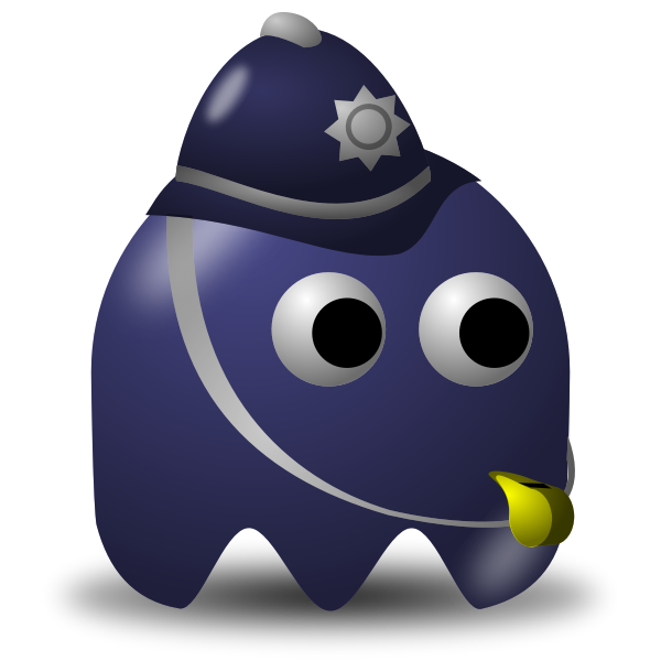 Game sheriff icon vector illustration