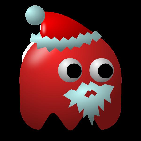 Game baddie: Santa vector