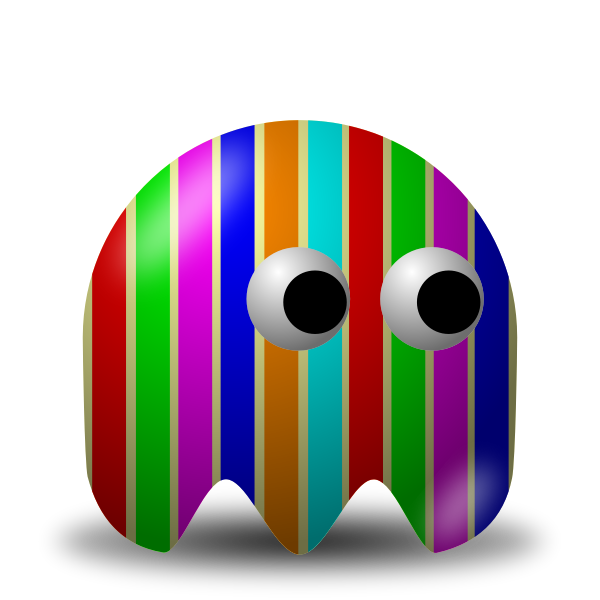 Game baddie Stripey vector image